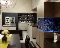 Морской аквариум на кухне